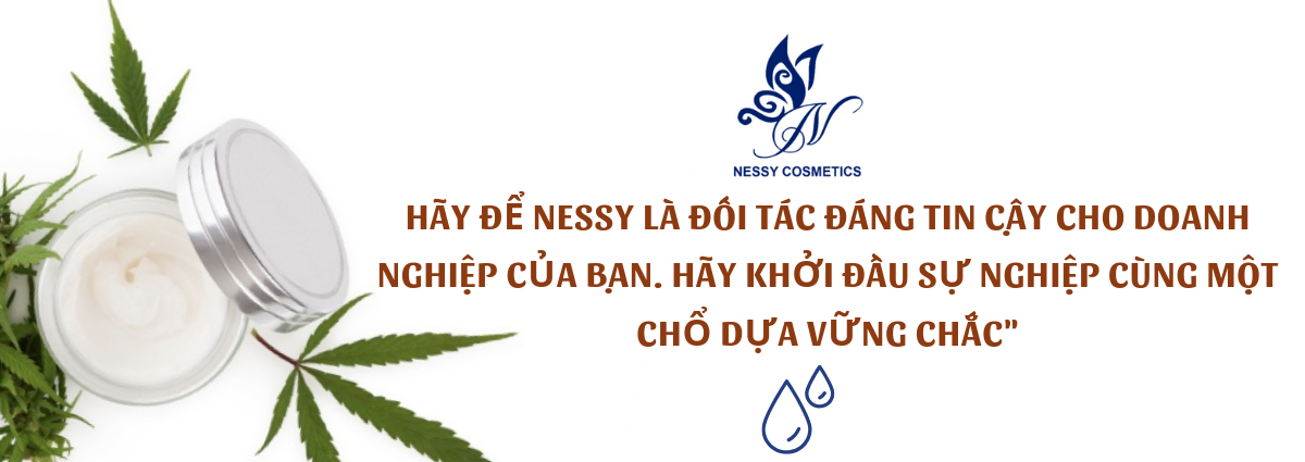 gia công mỹ phẩm độc quyền Nessy